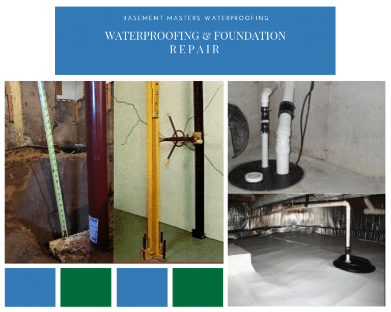 foundation repair and waterproofing in Chantilly